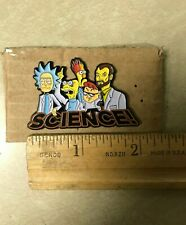 HATPIN - SCIENCE! Futurama Dexters Lab Rick and Morty Muppets Megan Hamilton EDM