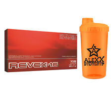 Scitec Nutrition Revex-16 108 Kaps. Fatburner Gewichtsreduktion Synephrin Shaker