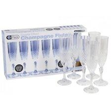 Plastic Champagne Flutes Glassware