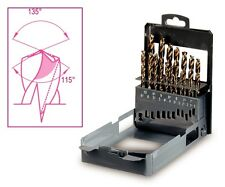 Beta Tools 416/SP19 Set of 19 Drills Hss Specially Ground with Double Penetratio