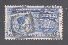 U.S. STAMP #E6  — 1902 SPEC DELIVERY STAMP --  w/BICYCLE --  USED