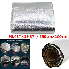 Aluminum Foil Firewall Sound Deadener Car Heat Shield Insulation Deadening Mat