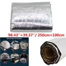 Aluminum Foil Firewall Sound Deadener Car Heat Shield Insulation Deadening Mat