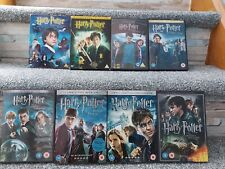 Harry Potter Dvd Bundle 1-8 Fully Complete 2 Disc Editions
