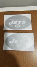 New York Jets Ice Custom Throwback Full Size Football Helmet Decals 20 mils