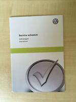 VW VOLKSWAGEN JETTA SERVICE BOOK NEW UNUSED NOT DUPLICATE TIGUAN POLO EOS TOUREG