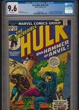 MARVEL COMICS INCREDIBLE HULK #182 1974 CGC 9.6 WP 2nd WOLVERINE APPEARANCE