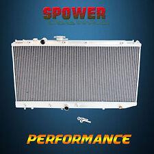 Aluminum Radiator For Toyota PASEO EL44 EL54 2DR COUPE  TERCEL EL45 AT MT 91-99