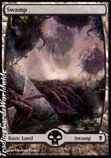 Swamp Version 8 // NM // Zendikar // engl. // Magic the Gathering