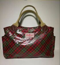 CATH KIDSTON Plaids red checkered tote handbag
