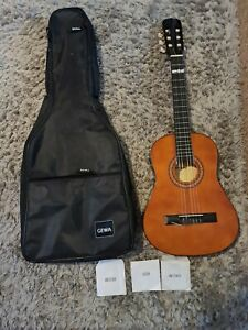 Tenson 3/4 size 6 String Acoustic Guitar With Bag - Dark Brown