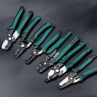 NEW Professional Crimping Tool / Multi-Tool Wire Stripper/Cutter/Crimper Pliers