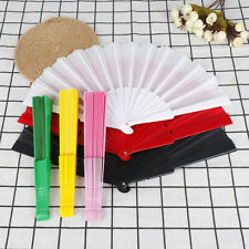 Room Decoration Gift Craft Bamboo Hand Hold Folding Fan Party Wedding SupplIjus