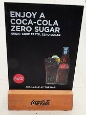 Coca Cola Table / Bar Top Message / Memo / Blackboard.