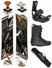 Snowboard Set AIRTRACKS Ligne Rocker+Fixation Master+Bottes + Sac / 150 154 158