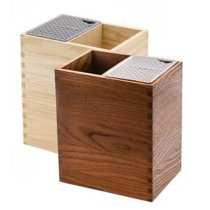 Legnoart Mistery box Portacoltelli e Portautensili Design Italiano
