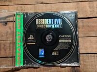 VTG PS1 RESIDENT EVIL DIRECTORS CUT VIDEO GAME SONY PLAYSTATION 1 DISC ONLY EUC!