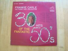 Vinyl LP Record Frankie Carle Piano & Orchestra 30 Hits Of The Fantastic 50's