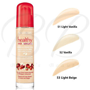 BOURJOIS Healthy Mix Gel Serum Light Coverage Liquid Foundation 30ml *ALL SHADES
