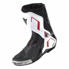 Dainese Torque D1 Out Boots Black White Lava-Red - Many Sizes Free Shipping