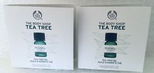 The Body Shop Carded Samples Tea Tree Oil - 2 x 1ml Samples