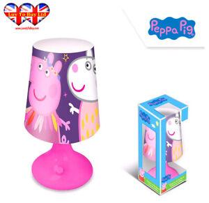 Peppa Pig Table Desk Lamp,Bedroom Night Light,Official Licenced