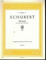 Schubert ~ Menuett aus der Sonate G-Dur, op.78