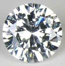 Cubic Zirconia Round Crystal Clear White AAA CZ Loose Stones (0.8mm - 50mm)