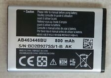 NEW OEM Samsung AB463446BU Battery for C120 C130 C140 D520 E250 E870 E900 I320