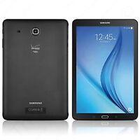 "Samsung Galaxy Tab E T567V, 9.6"" 16GB, (WiFi+Verizon 4G LTE) Tablet, Cond 8/10"