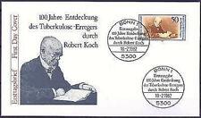 BRD 1982: Robert Koch! FDC der Nr. 1122 mit Bonner Ersttags-Sonderstempeln! 1701