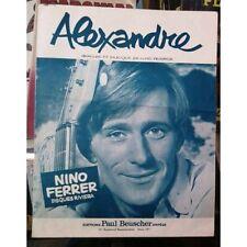"""Nino Ferrer """"Alexandre"""" - Partition"""