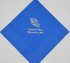 150 Personalized Beverage Napkins Wedding favors custom printed