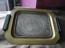 FRENCH SMALL OCTOGONAL TRAY ELECTRO FORM SIGNED BY A.LEBEY CIRCA 1870
