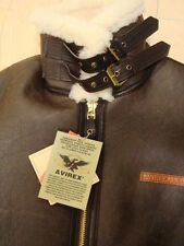 Brand New & 100% Authentic Genuine ! Avirex B-3 Brown Leather Jacket with Tag !