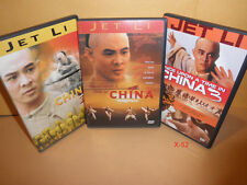 JET LI dvd ONCE UPON A TIME IN CHINA trilogy 1 2 3 DONNIE YEN biao yuen WONG FEI