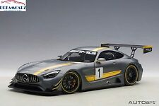 AUTOart 81530 1:18 Mercedes AMG GT3 Presentation Car Grey