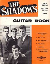 The Shadows-Guitar Book-Solo Guitar-Rhythm Guitar-Bass-1965-J. Albert & Son-Rare