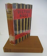 VICTOR HUGO, The Man and The Poet, by William F. Giese, 1st Ed in DJ, 1926