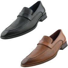 Men's Dress Shoes, Penny Loafers for Men - Mens Slip On Shoes - Casual Slippers