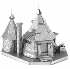 Fascinations Harry Potter Rubeus Hagrid Hut Metal Earth 3D Kit Modellino in metallo