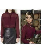 Topshop Chiffon Long Sleeve Tops & Shirts for Women