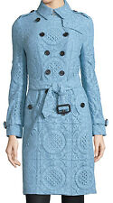 NWT $2995 IT38/US4 BURBERRY Prorsum Italy English Lace Trench Coat