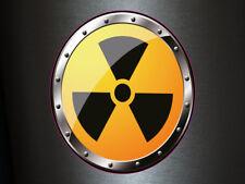 1 x adhesivo cárnica 012 radiactivo Radioactive Biohazard sticker Shocker