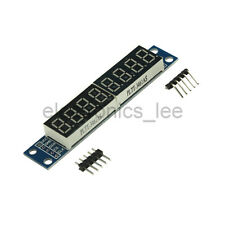 MAX7219 8 bit 7-Segment Digital Tube Red Display Control Module for Arduino