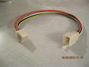 Kubota RTV 9 Pin Wire Harness Tractor Plug Female / Male CD Radio / Stereo New 1