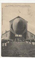 Dirigeable Ville de Nancy Sortant Son Hangar, France Airship Postcard, M051