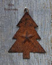 9 ~ Rusty Tree w/ dimensional Star Ornaments