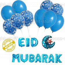 "EID Mubarak RAMADAN Foil Balloons Eid Decoration Foil 16"" inch baloons balons UK"