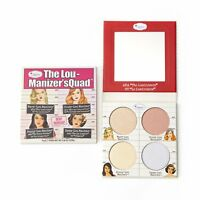 theBalm The Lou Manizer Squad Highlighter Palette (4 highlighting shades) NIB